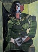 Женщина в зеленом (Дора Маар) - Пикассо, Пабло