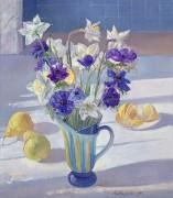Весенние цветы, лимон и груши - Истон, Тимоти