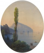 Пейзаж с видом на Аю-Даг - Айвазовский, Иван Константинович