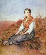 Женщина с вязанкой хвороста - Ренуар, Пьер Огюст