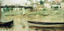 Лодки на Сене - Моризо, Берта