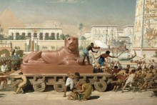 Израильтяне в Египте (фрагмент) - Пойнтер, Эдвард Джон