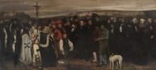 Похороны в Орнане - Курбе, Гюстав