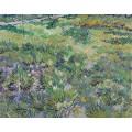 Луг в саду больницы Сен-Поль (Meadow in the Garden of Saint-Paul Hospital), 1890 - Гог, Винсент ван