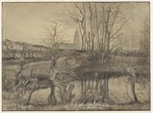 Зимородок (The Kingfisher), 1884 - Гог, Винсент ван