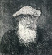 Автопортрет, 1890 - Писсарро, Камиль