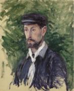 Портрет Евгения Лами, 1888 - Кайботт, Густав