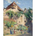 Дом и сад в Санкт-Керк-Лапопи, 1920 - Мартен, Анри Жан Гийом