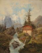 Гора Веттерхорн в Швейцарии - Барбарини, Густаф