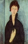 Женщина с голубыми глазами - Модильяни, Амадео