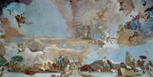 Аполлон и континенты, деталь - Азия - Тьеполо, Джованни Баттиста