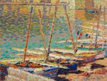 Лодки в Коллиуре - Мартен, Анри Жан Гийом