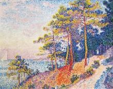 Дорога на побережье близ Сен-Тропе - Синьяк, Поль