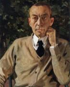 Портрет Рахманинова - Сомов, Константин Андреевич