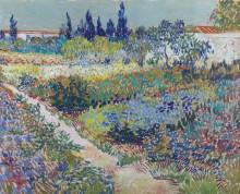 Сад с цветами (Garden with Flowers), 1888 - Гог, Винсент ван