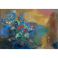 Офелия среди цветов - Редон, Одилон