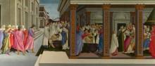 Четыре сцены из раннего Жития Святого Зиновия - Боттичелли, Сандро