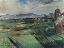 Римский пейзаж, 1914 - Коринт, Ловис
