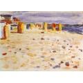 Пляжные корзины в Голландии, 1904 - Кандинский, Василий Васильевич