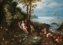 Аллегория воды - Брейгель, Ян (младший)