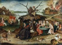 Искушение святого Антония - Брейгель, Питер (Младший)