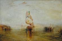 """""""Солнце Венеции"""", уходящий в море - Тернер, Джозеф Мэллорд Уильям"""