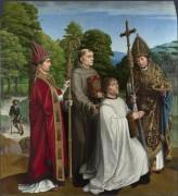 Бернардин Сальвиати и трое Святых - Давид, Герард