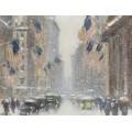 Метель на День рождения Вашингтона, 5-й авеню, 1930-40 -  Уиггинс, Гай Кэрлтон