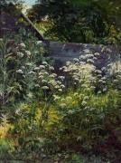 Уголок заросшего сада. Сныть-трава, 1884 - Шишкин, Иван Иванович