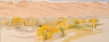 Пейзаж в Нью-Мексико - О'Кифф, Джорджия