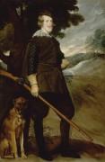 Филипп IV на охоте - Веласкес, Диего
