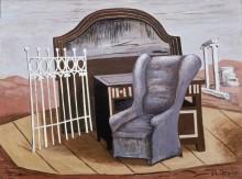 Мебель в пустыне - Кирико, Джорджо де