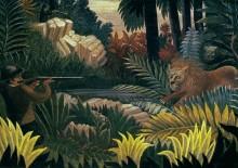 Охота на льва - Руссо, Анри