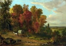 Осенний пейзаж - Дюран, Ашер Браун