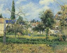 Сад аббатства Мобюиссон, Понтуаз, 1881 - Писсарро, Камиль