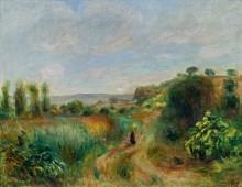 Пейзаж в Кани - Ренуар, Пьер Огюст
