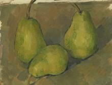 Три груши - Сезанн, Поль