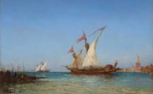 Регата в Венеции -  Зим, Феликс