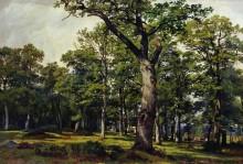 Дубовый лес, 1869 - Шишкин, Иван Иванович