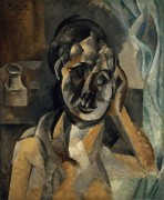 Женщина с горчичницей - Пикассо, Пабло
