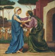 Встреча Марии и Елизаветы - Морган, Эвелин де