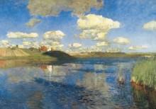 Озеро. Русь. 1899-1900 - Левитан, Исаак Ильич