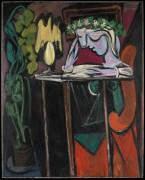 Чтение за столом - Пикассо, Пабло