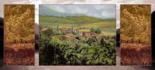 Осенний пейзаж. Триптих - Борелли, Гвидо (20 век)