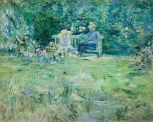 Урок в саду - Моризо, Берта