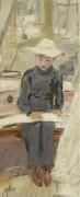 Юный рисовальщик, 1901 - Эллё, Поль-Сезар