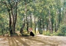 Около дачи (На даче), 1894 - Шишкин, Иван Иванович