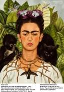Автопортрет с терновым ожерельем и колибри - Кало, Фрида