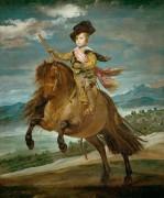 Конный портрет инфанта Бальтазара Карлоса - Веласкес, Диего