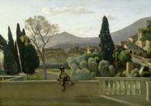 Вид из сада виллы Эсте, Тиволи - Коро, Жан-Батист Камиль